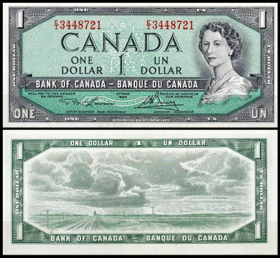 CANADA 1 Dollar 1973 Pick 85b UNC